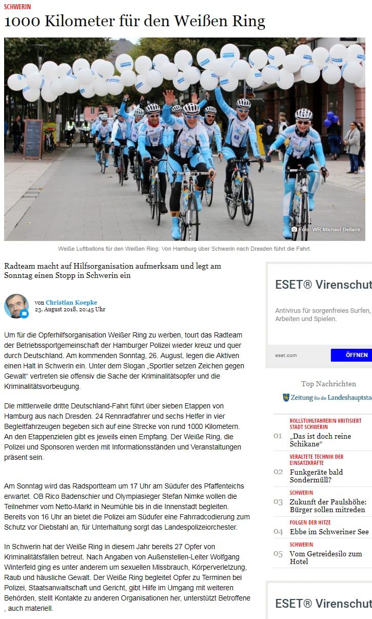 Schweriner Volkszeitung Bützow